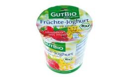 Produkt der Woche: GutBio Früchte Joghurt Himbeere mit Müsli