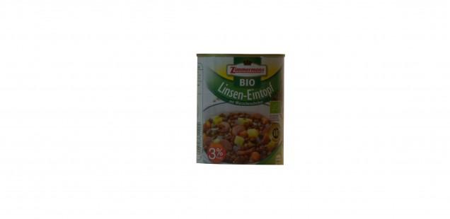 Produkt der Woche: Bio Linsen-Eintopf