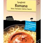 Produkt der Woche: Spaghetti Romana feine Tomaten-Sahne-Sauce von Beltane