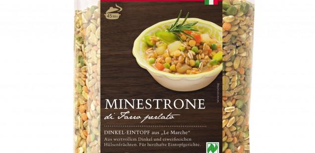 """Produkt der Woche: Minestrone Dinkel Eintopf aus """"Le Marche"""""""