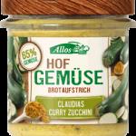 Hof Gemüse Brotaufstrich - Claudia´s Curry Zucchini