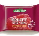 Produkt der Woche: Riegel Frucht Pur 100 % Himbeere von Allos