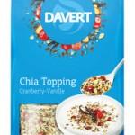 Produkt der Woche: Chia Topping Cranberry-Vanille von Davert