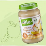 Produkt der Woche: Babyobstbrei Apfel mit Banane und Hirse von dm