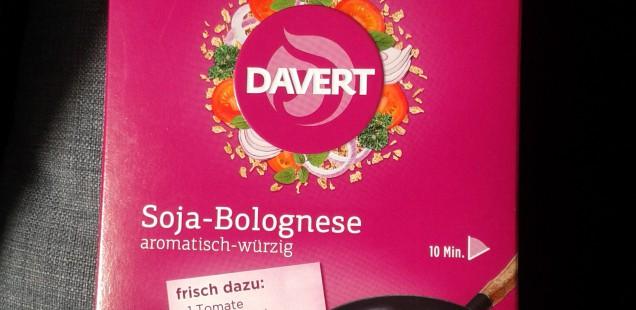 Produkt der Woche: Soja-Bolognese von Davert
