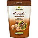 Produkt der Woche: Maronen, verzehrfertig, von Alnatura