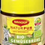 Produkte der Woche: Natur Pur Bio-Gemüsebrühe von Maggi und Gemüse Bouillon von Alnatura