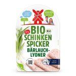 Produkt der Woche: Bio Schinken Spicker Bärlauch Lyoner von Rügendwalder Mühle