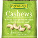 Produkt der Woche: Cashews geröstet + gesalzen von Rapunzel